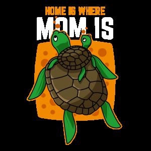 Muttertag Geschenk Mutter Sohn Tochter Schildkröte