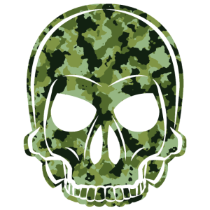 MMJ Totenkopf / Skull Camouflage Army Style