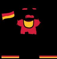 Fan-Shirt: Ich brülle für Deutschland