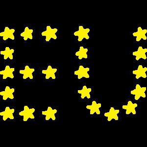 Europa EU Flagge Sterne