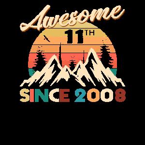 11. Geburtstag Vintage Awesome seit 2008