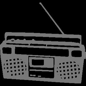 alte Radiokassette 8