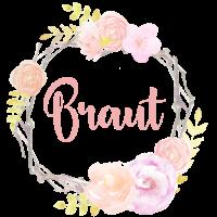 Brautshirt Braut CoL