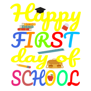 Erster Schultag - Happy First Day Of School
