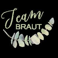 Brautshirts 2019 Eukalyptus Team