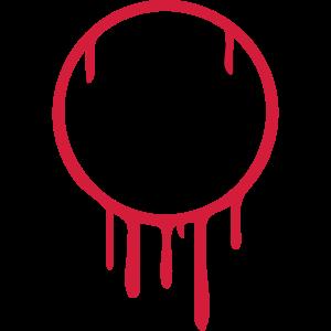 Computer Schreibtisch Graffiti Logo
