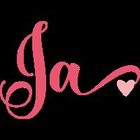 Brautshirts Ja Pink