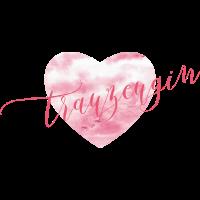 Brautshirts Herz Rosa Trauzeugin