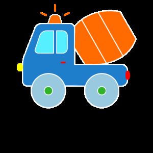 Betonmischer Fahrzeug Baustelle Kleinkinder