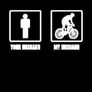 Fahrrad Ehemann Fahren Rad Rennradfahrer Geschenk