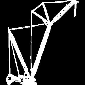Raupen Kran crawler crane