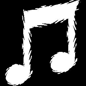 Musiknote Musik Design Sänger