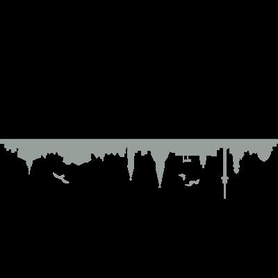 Skyline Kiel - Skyline Kiel - wahrzeichen,stadt,skyline,silhouette,sehenswürdigkeiten,sehenswürdigkeit,ostsee,kiel,haus,gebäude