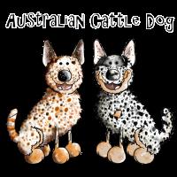 Zwei Australian Cattle Dogs - Hund