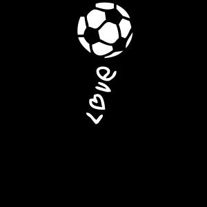 künstlerischer Fußballcharakter