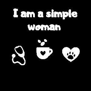 Ich bin eine simple Frau - Nurse, Kaffee und Hund