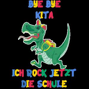 Einschulung Schulkind erste Klasse Idötzchen Dino