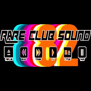 Club Sound House Musik Retro Design