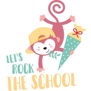 MONKEY - LET'S ROCK THE SCHOOL