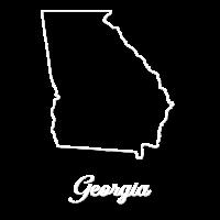 Georgia Landkarte