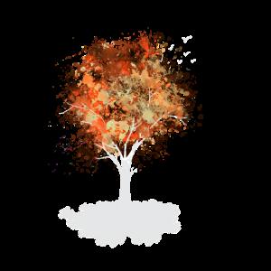 Fantasie- Baum auf Wolke