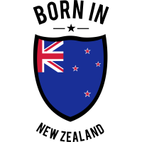 Born in New Zealand
