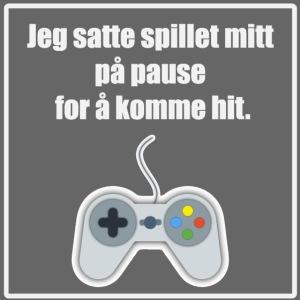 morsom t-skjorte til gamer