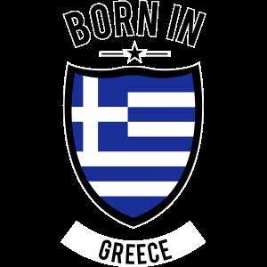 Born in Greece