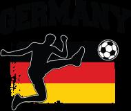 Fan-Shirt: Deutschland Fußball