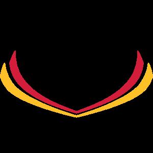 Deutschland Streifen Flagge