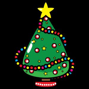 Weihnachten Weihnachtsbaum Cartoon Zeichnung
