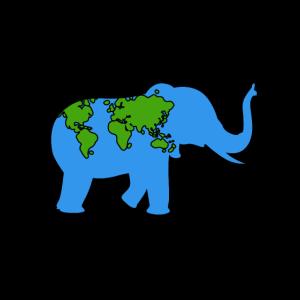 Tag der Erde Elefant Tier Earthday Geschenk