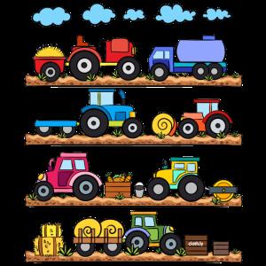 Traktor Trecker Bauernhof