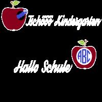 Tschö Kindergarten,Hallo Schule,Shirt Einschulung