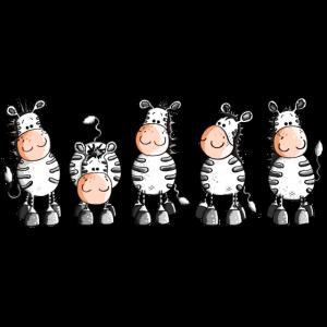 Funny Zebras - Zebra