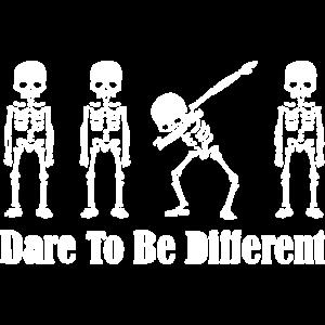 Lustiger Spruch Dab skelett