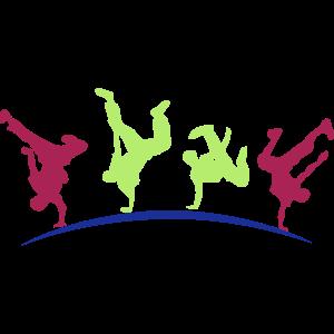 Breakdance Hip Hop Tänzer
