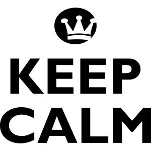 KEEP CALM + Dein Text