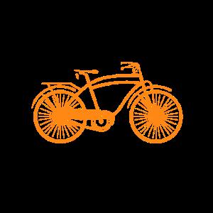 Lustiges Fahrrad T-Shirt für ältere Radfahrer