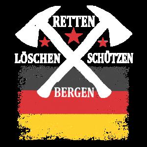 Feuerwehr Löschen Retten Bergen Schützen Geschenk