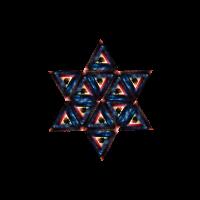 Space Dreieck, Universum, Sterne, Space, Galaxie