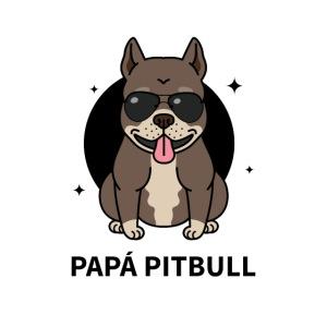 Mascarilla Papá PitBull | Humor Canino | Perros
