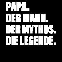 Papa die Legende Vater Vatertag Vatertagsgeschenk