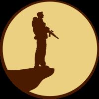 Soldat Mond Klippe Design