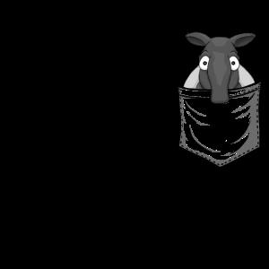 Tapir Fan Art Schabracken-Tapir In Deiner Tasche