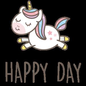 Happy Day - Einhorn