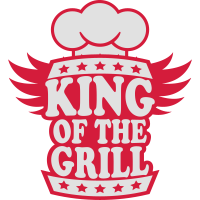 King Of The Grill Logo Design