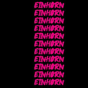 Positives Denken Affirmation Einhorn T-Shirt