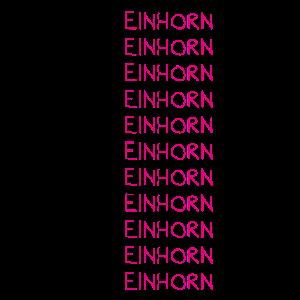 Lustiges Positives Denken Einhorn Herz T-Shirt