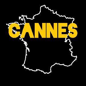 Cannes mondänes Souvenir